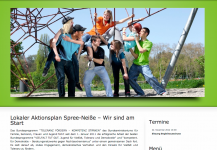 Webseite LAP Spree-Neiße